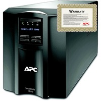 APC Smart-UPS Line-interactive UPS - 1000 VA/700 WTower - 3 Hour - 6 Minute - 230 V AC - 230 V AC - 2 x IEC Jumper, 8 x IEC 60320 C13