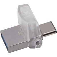 Kingston DataTraveler microDuo 3C 64 GB USB 3.1 Flash Drive