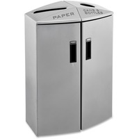 Rubbermaid Commercial Feature Paper/Trash Can Station