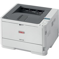 Oki B400 B412dn LED Printer - Monochrome - 33 ppm Mono - 1200 x 1200 dpi Print - 350 Sheets Input
