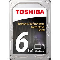 Toshiba X300 6TB 3.5inch Desktop Hard Drive HDD