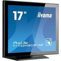 "Iiyama T1732MSC-B1AG 17"" Anti Glare, Projective Capacitive Touch, USB"