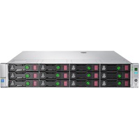 HP ProLiant DL380 G9 2U Rack Server - 1 x Intel Xeon E5-2620 v3 Hexa-core (6 Core) 2.40 GHz - 2 Processor Support - 16 GB Standard DDR4 SDRAM Maximum RAM - 12Gb/s SA