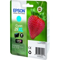 Epson Claria 29XL Ink Cartridge - Cyan - Inkjet - High Yield - 450 Page - 1 / Pack