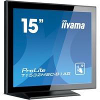 "Iiyama ProLite T1532MSC-B1AG - LED monitor - 15"" - touchscreen Black"