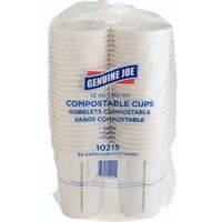 Genuine Joe Eco-friendly Paper Cups 10215