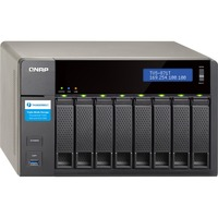 QNAP Turbo vNAS TVS-871T 8 x Total Bays SAN/NAS/DAS Server - Tower - Intel Core i7 i7-4790S Quad-core (4 Core) 3.20 GHz - 16 GB RAM DDR3 SDRAM - Serial ATA/600 - RAI