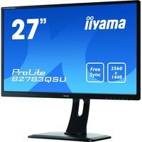 """Iiyama ProLite B2783QSU-B1 - QHD LED monitor - 27"""" Black"""