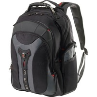"Wenger PEGASUS Carrying Case (Backpack) for 43.9 cm (17.3"") Notebook - Black - Nylon, Polyester - Shoulder Strap, Handle"
