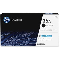 HP 26A Original Toner Cartridge - Black - Laser - 3100 Page