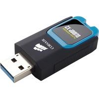 Corsair Flash Voyager Slider X2 32 GB USB 3.0 Flash Drive - Blue