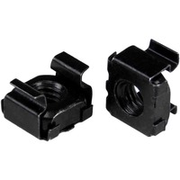 StarTech.com M5 Cage Nuts - 50 Pack, Black - M5 Mounting Cage Nuts for Server Rack And Cabinet