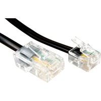 Cables Direct RJ-11/RJ-45 Network Cable for Modem, Router - 5 m