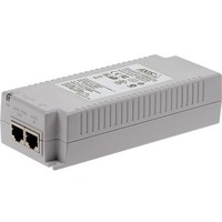 AXIS T8134 PoE Injector - 120 V AC, 230 V AC Input - 55 V DC Output - 1 10/100/1000Base-T Input Port(s) - 1 10/100/1000Base-T Output Port(s) - 60 W - Wall/Shelf/DIN