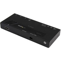 StarTech.com 4-Port HDMI Automatic Video Switch - 4K 2x1 HDMI Switch - 3840 × 2160 - 4K