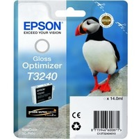 Epson UltraChrome Hi-Gloss2 T3240 Gloss Optimizer Cartridge - White - Inkjet - 1 / Pack