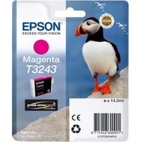 Epson UltraChrome Hi-Gloss2 T3243 Original Ink Cartridge - Magenta - Inkjet - 1 / Pack