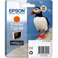 Epson UltraChrome Hi-Gloss2 T3249 Original Ink Cartridge - Orange - Inkjet - 1 / Pack