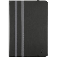 "Belkin Twin Stripe Carrying Case (Folio) for 25.4 cm (10"") iPad Air - Black - Shock Resistant, Scratch Resistant, Dust Resistant, Splash Resistant, Knock Resistant,"
