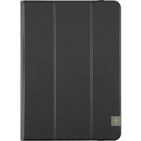 "Belkin Tri-Fold Carrying Case (Folio) for 25.4 cm (10"") iPad Air, iPad Air 2, Tablet - Blacktop - Scratch Resistant Interior - Fabric"