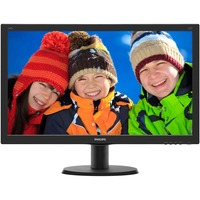 "Philips V-line 240V5QDSB 23.8""  LED LCD Monitor"