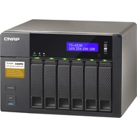 QNAP Turbo NAS TS-653A 6 x Total Bays NAS Server - Desktop - Intel Celeron N3150 Quad-core 4 Core 1.60 GHz - 8 GB RAM DDR3L SDRAM - Serial ATA/600 - RAID Supported