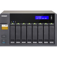 QNAP Turbo NAS TS-853A 8 x Total Bays NAS Server - Desktop - Intel Celeron N3150 Quad-core (4 Core) 1.60 GHz - 8 GB RAM DDR3L SDRAM - Serial ATA/600 - RAID Supported