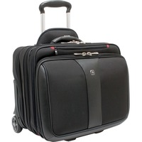"Wenger PATRIOT Carrying Case (Roller) for 43.2 cm (17"") Notebook - Black - 2 x Pieces per Set"