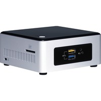 Intel NUC NUC5PGYH Desktop Computer - Intel Pentium N3700 1.60 GHz - 2 GB DDR3L SDRAM - Windows 10 Home 64-bit - Mini PC - Intel HD Graphics Graphics - Wireless LAN