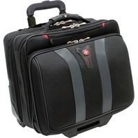 "Wenger Granada Carrying Case (Roller) for 43.2 cm (17"") Notebook - Black, Grey - Handle"