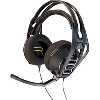 Plantronics RIG 500HD Wired 40 mm Headset - Over-the-head - Circumaural - Black