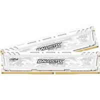 Ballistix Sport LT RAM Module - 32 GB (2 x 16 GB) - DDR4 SDRAM - 2400 MHz DDR4-2400/PC4-19200 - 1.20 V - Non-ECC - Unbuffered - CL17 - 288-pin - DIMM