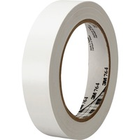 3M General Purpose Vinyl Tape 764 White MMM764136WHT
