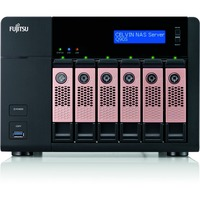 Fujitsu CELVIN Q905 6 x Total Bays NAS Server - Desktop - Intel Celeron J1900 Quad-core (4 Core) 2.42 GHz - 24 TB HDD - Serial ATA/600 - RAID Supported 0, 1, 5, 6, 1