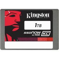 """Kingston SSDNow KC400 1 TB 2.5"""" Internal Solid State Drive - SATA - 550 MB/s Maximum Read Transfer Rate - 530 MB/s Maximum Write Transfer Rate"""