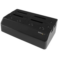 StarTech.com 4-Bay Hard Drive Docking Station for 2.5in / 3.5in SSDs and HDDs - 4 Total Bay