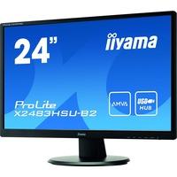 "iiyama ProLite X2483HSU-B2  24""  LED Monitor"