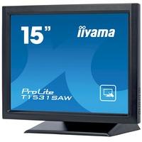 "iiyama ProLite T1531SAW-B3 38.1 cm (15"") LCD Touchscreen Monitor - 4:3 - 8 ms"