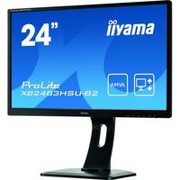 "Iiyama Prolite XB2483HSU-B2 24"" Black LED AMVA+ LCD"