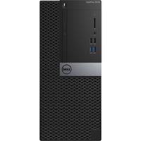Dell OptiPlex 3040 Desktop Computer - Intel Core i3 (6th Gen) i3-6100 3.70 GHz - Mini-tower - Black - 4 GB DDR3L SDRAM RAM - 500 GB HDD - DVD-Writer DVD±R/&#177