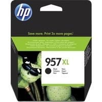 HP 957XL Original Ink Cartridge - Black - Inkjet - High Yield - 3000 Pages