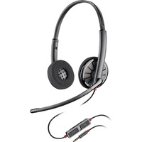 Plantronics Blackwire C225 Wired Stereo Headset - Over-the-head - Supra-aural - 20 Hz - 20 kHz - Mini-phone - Yes