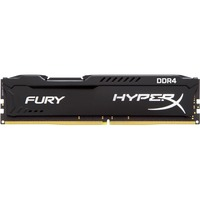 Kingston HyperX Fury RAM Module - 16 GB - DDR4 SDRAM - 2400 MHz - 1.20 V - Non-ECC