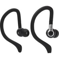 Sandberg Sports Wired Stereo Earphone - Earbud, Over-the-ear - In-ear - Black