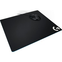 Logitech G640 Gaming Mouse Pad - Textured - 400 mm x 460 mm x 3 mm Dimension - Cloth Surface, Rubber Base