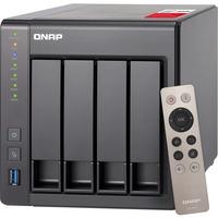 QNAP Turbo NAS TS-451+ 4 x Total Bays SAN/NAS Storage System - Tower - Intel Celeron Quad-core