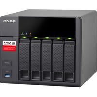 QNAP Turbo NAS TS-563 5 x Total Bays SAN/NAS Storage System - Tower AMD G-Series Quad-core