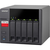 QNAP Turbo NAS TS-563 5 x Total Bays SAN/NAS Storage System - Tower