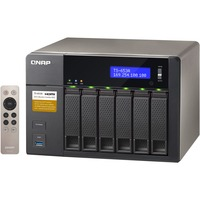 QNAP Turbo NAS TS-653A 6 x Total Bays SAN/NAS Storage System - Tower Intel Celeron N3150 Quad-core