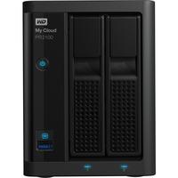 WD My Cloud PR2100 2 x Total Bays NAS Storage System - Desktop - Intel Pentium N3710 Quad-core